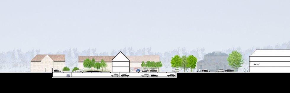 ARVAL architecture - Requalification du centre-ville – Gouvieux - 6 arval centre ville gouvieux