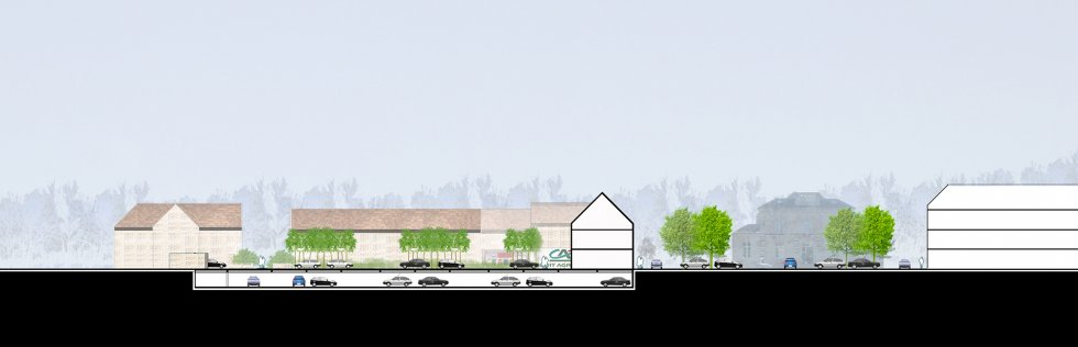 ARVAL architecture - Requalification du centre-ville – Gouvieux - 3 arval centre ville gouvieux