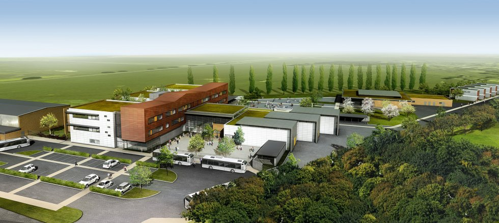 ARVAL architecture - Collège Jean Mermoz – Laon - 2 arval collège jean mermoz laon