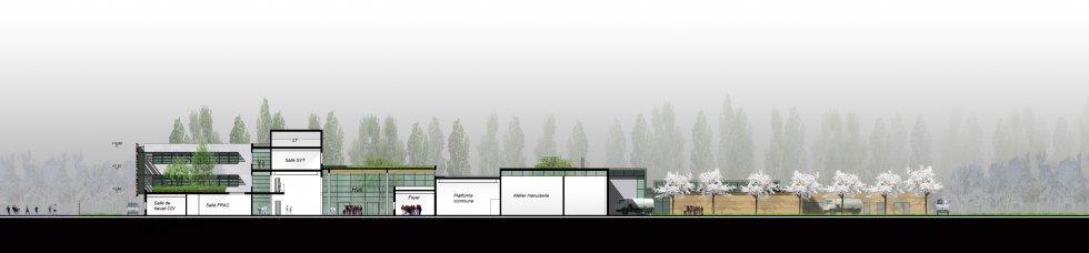 ARVAL architecture - Collège Jean Mermoz – Laon - 7 arval collège jean mermoz laon