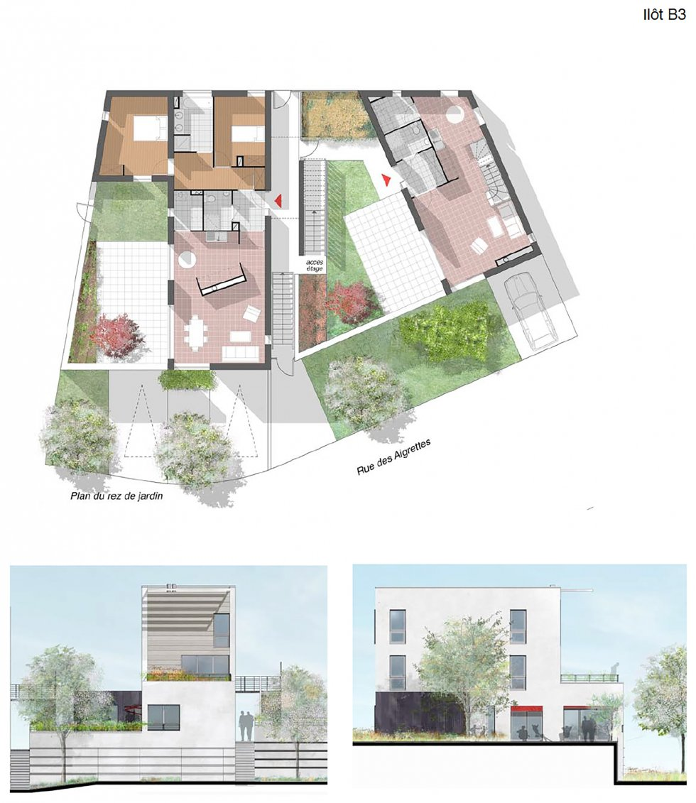 ARVAL architecture - ZAC Victorine Autier – Amiens - 4 arval ZAC Victorine Autier