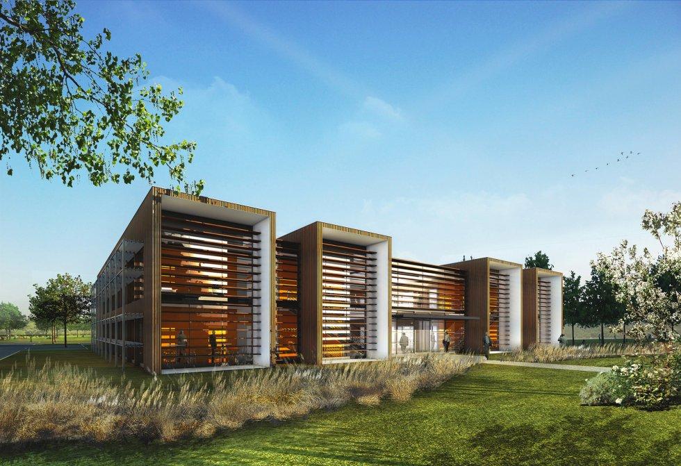 ARVAL architecture - Immeuble de bureaux – Compiègne - 2 Arval CER Compiègne