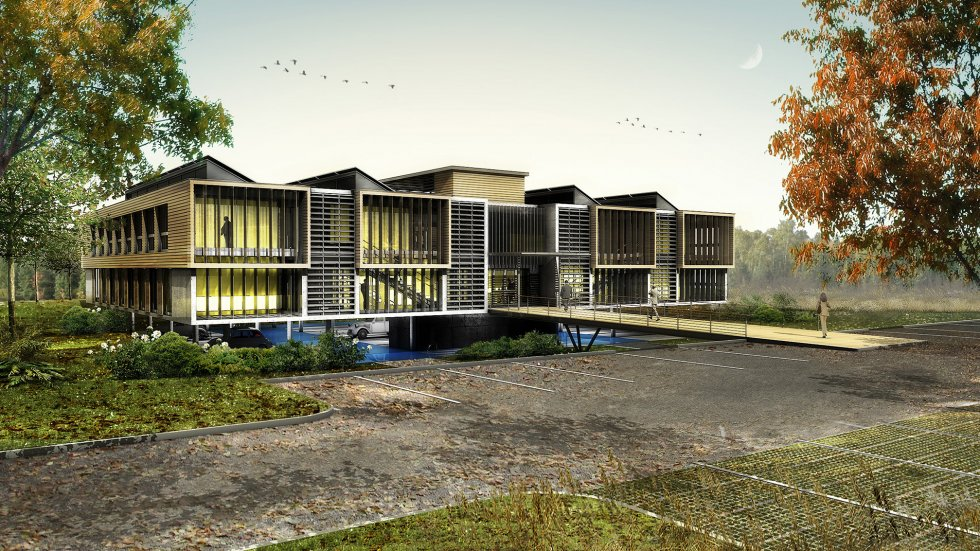 ARVAL architecture - Immeuble de bureaux – Compiègne - 3 Arval CER Compiègne