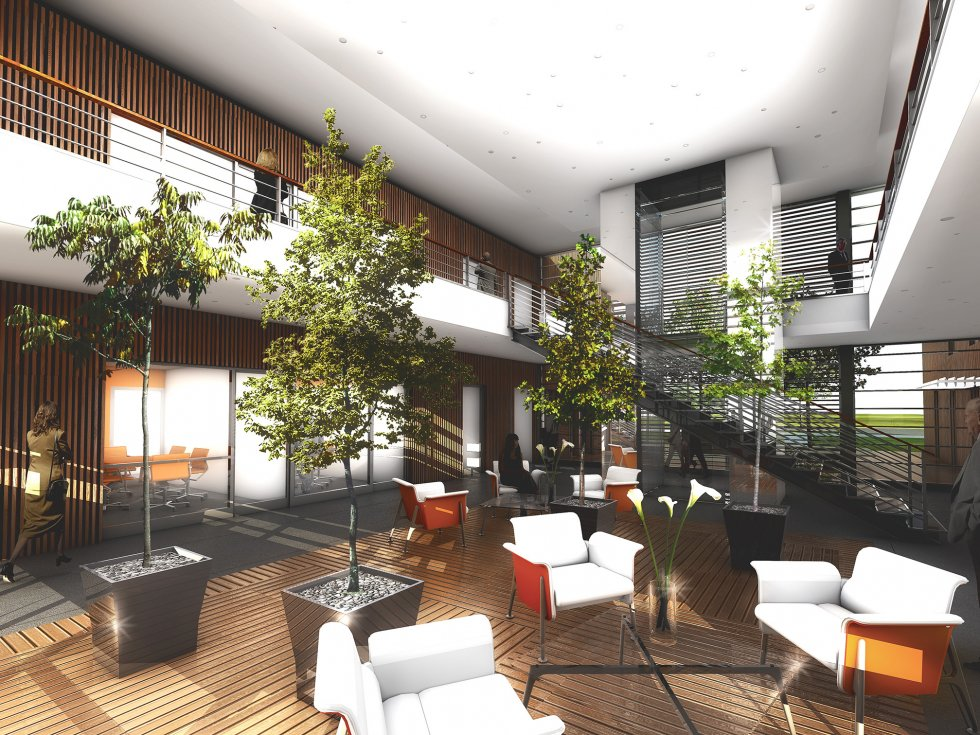 ARVAL architecture - Immeuble de bureaux – Compiègne - 4 Arval CER Compiègne