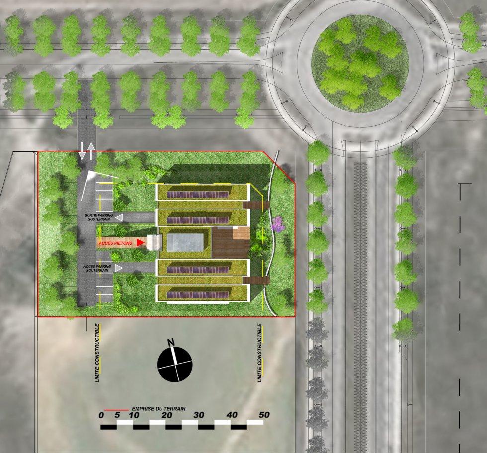 ARVAL architecture - Immeuble de bureaux – Compiègne - 1 Arval CER Compiègne