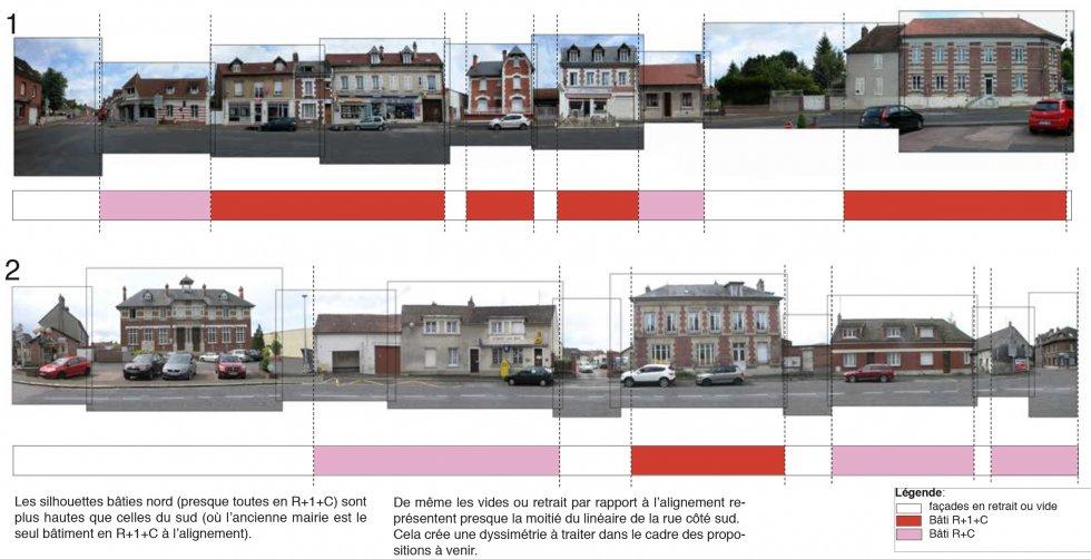 ARVAL architecture - Requalification du Centre Bourg – Choisy-au-bac - 5 Arval centre bourg Choisy au bac