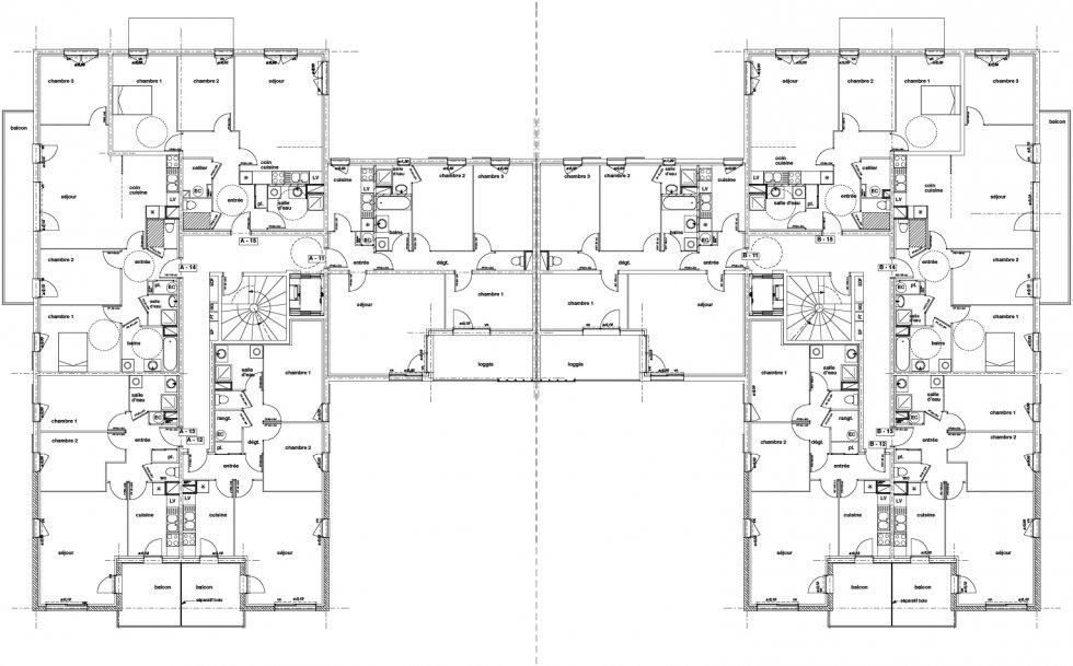 """ARVAL architecture - Résidence """"Les Vignes"""" – Soissons - 5 Arval Résidence des Vignes Soissons"""