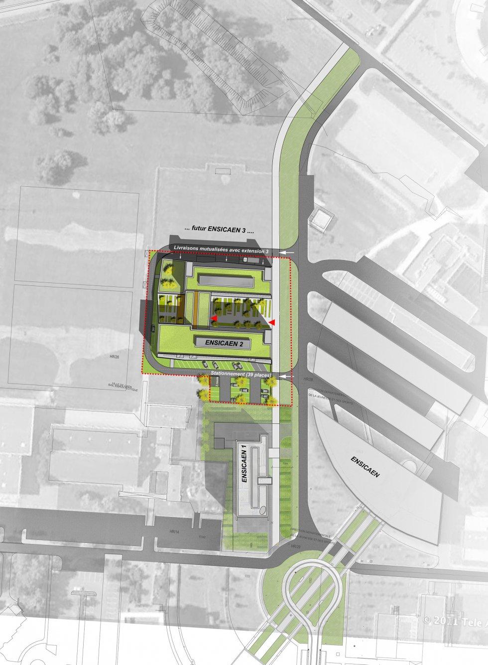 ARVAL architecture - ENSICAEN 2 – Caen-la-mer - 2 Arval Ensicaen 2 Caen