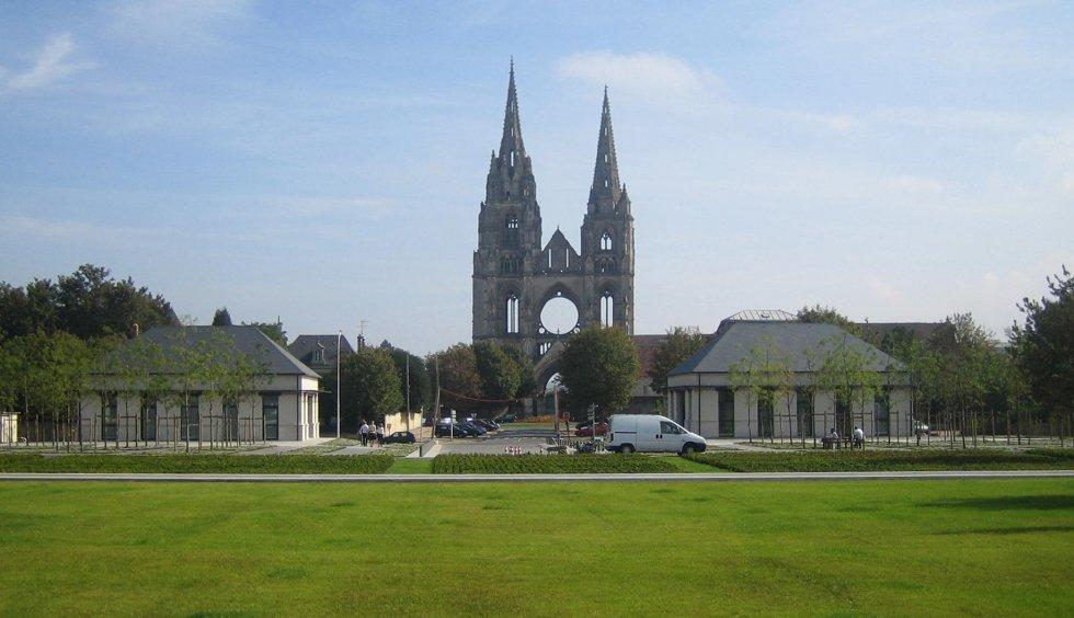ARVAL architecture - Pavillons d'entrée Caserne Gouraud – Soissons - 1 Arval Pavillons Gouraud Soissons