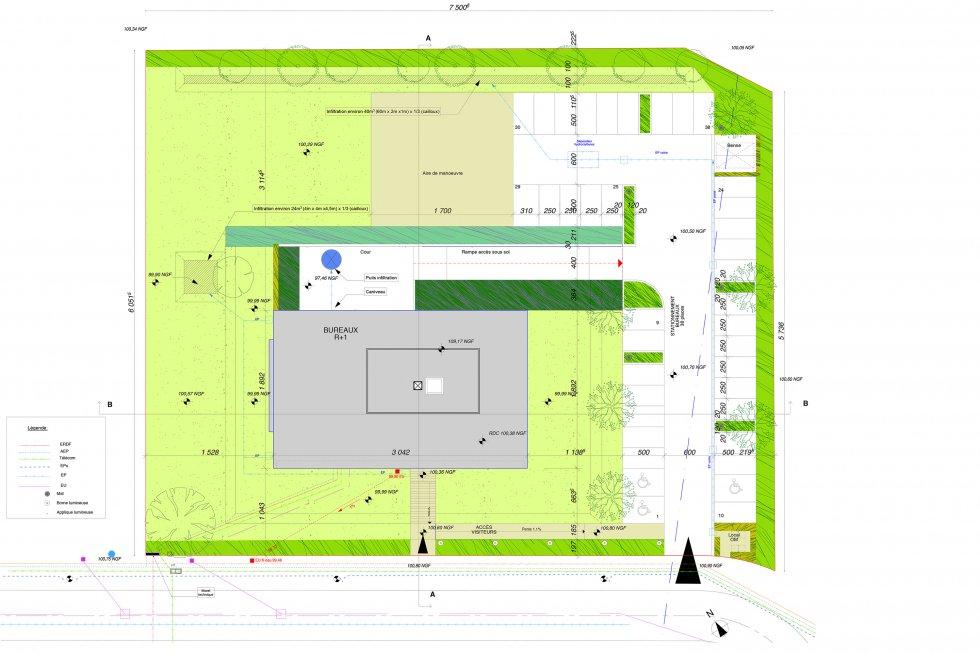 ARVAL architecture - Bureaux de Quille – Beauvais - 16 Arval bureaux Quilles Beauvais
