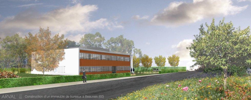 ARVAL architecture - Bureaux de Quille – Beauvais - 15 Arval bureaux Quilles Beauvais
