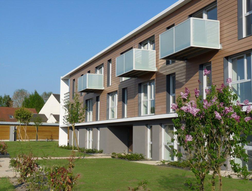 ARVAL architecture - 50 logements personnes âgées – Choisy-au-Bac - 1 Arval logements Choisy au Bac