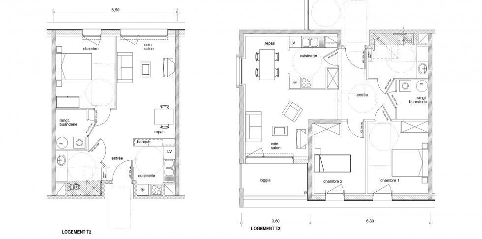 ARVAL architecture - 50 logements personnes âgées – Choisy-au-Bac - 7 Arval logements Choisy au Bac