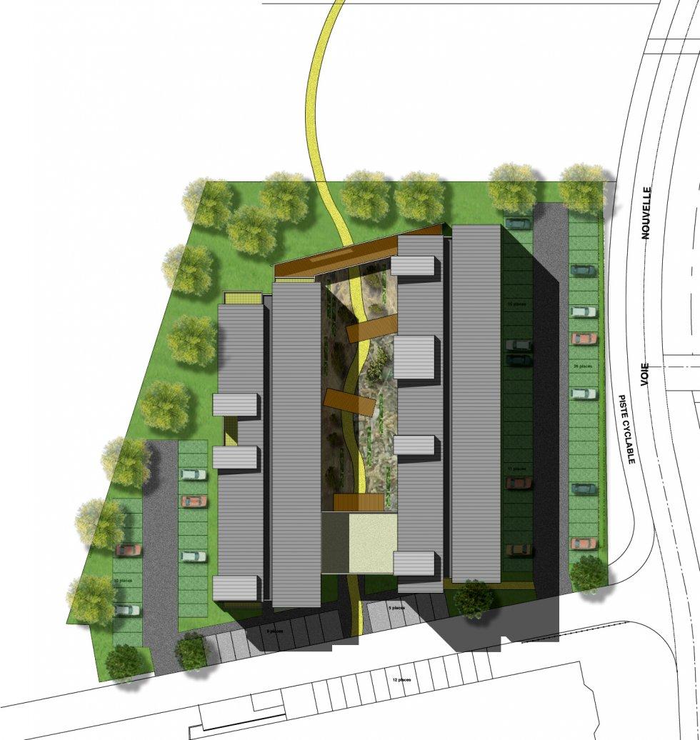 ARVAL architecture - Résidence étudiants – Compiègne - 5 Arval Résidence étudiants Compiègne