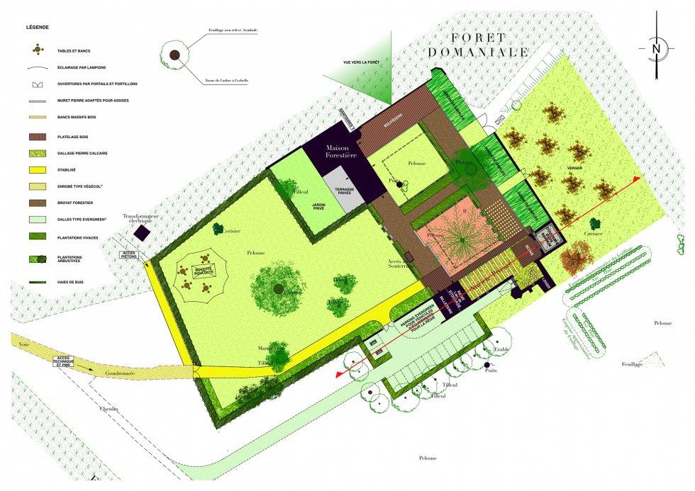 ARVAL architecture - Théatre de verdure – Saint-Pierre-en-Chastres - 2 arval saint pierre en chastres
