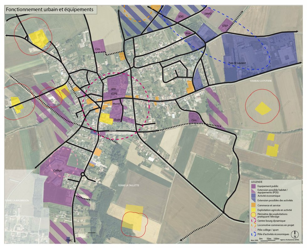 ARVAL architecture - PLAN LOCAL D'URBANISME (PLU) – LASSIGNY (60) - 1 PLU Lassigny diagnostic