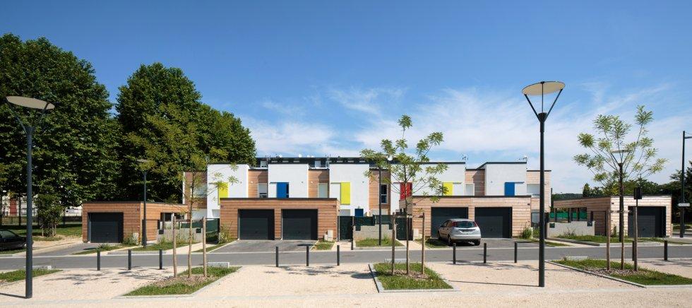 ARVAL architecture - 10 + 10 – Nogent sur Oise (Oise) - 2 Arval 10+10 Nogent sur Oise
