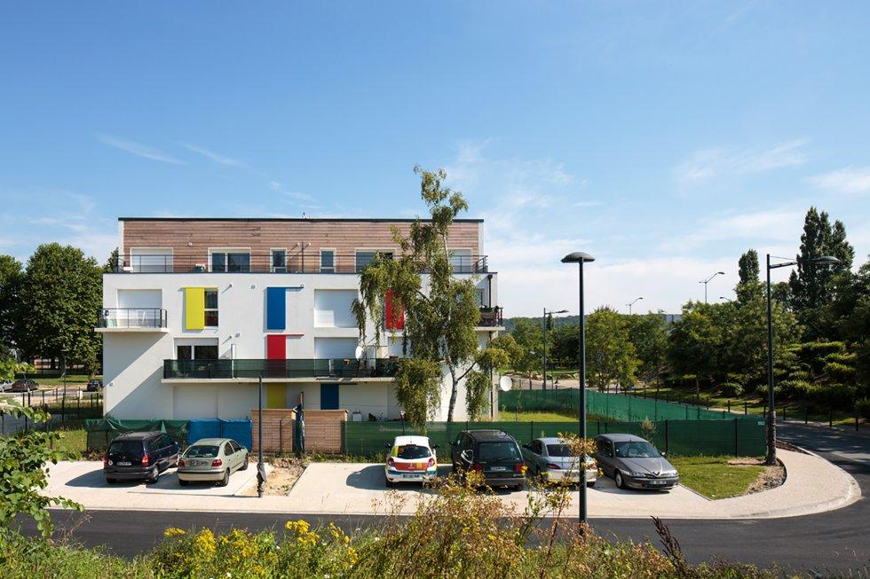 ARVAL architecture - 10 + 10 – Nogent sur Oise (Oise) - 3 Arval 10+10 Nogent sur Oise