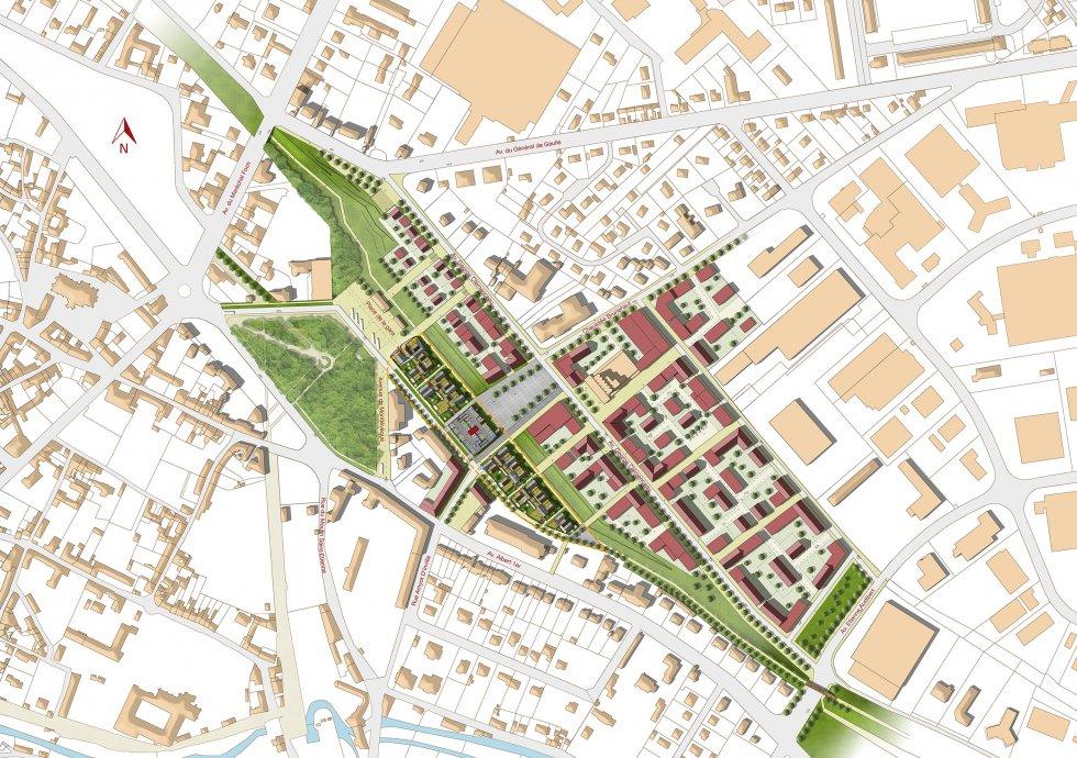 ARVAL architecture - ECOQUARTIER – SENLIS - 1 Arval ecoquartier Senlis