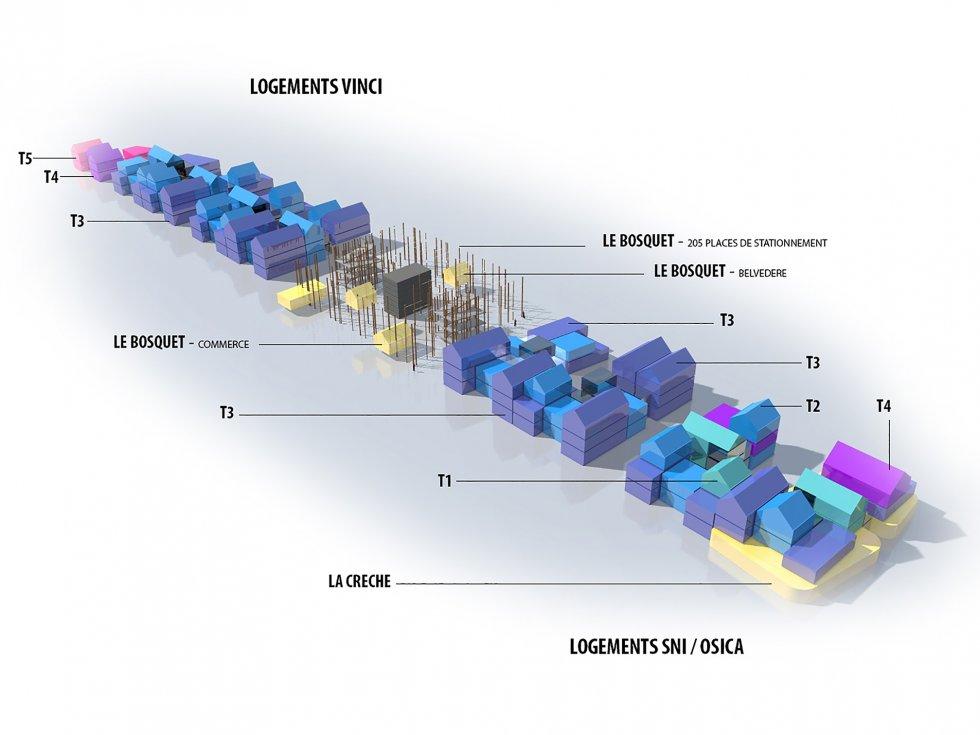 ARVAL architecture - ECOQUARTIER – SENLIS - 3 Arval ecoquartier Senlis
