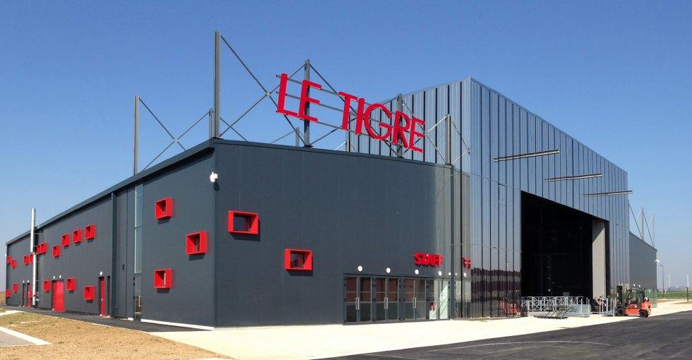ARVAL architecture - Pôle évènementiel – Compiègne - 1 Arval pôle évènementiel le Tigre Compiègne