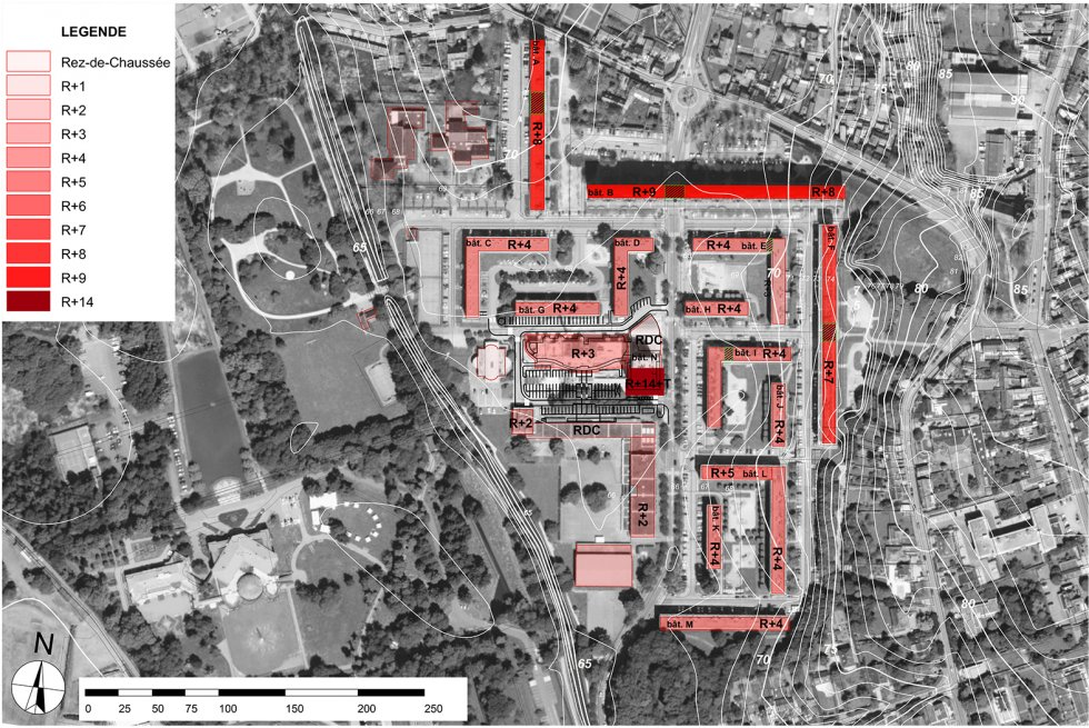ARVAL architecture - NPNRU – Etude quartier Saint-Lucien – Beauvais - 1 1509-St Lucien-analyse urbaine-epannelage