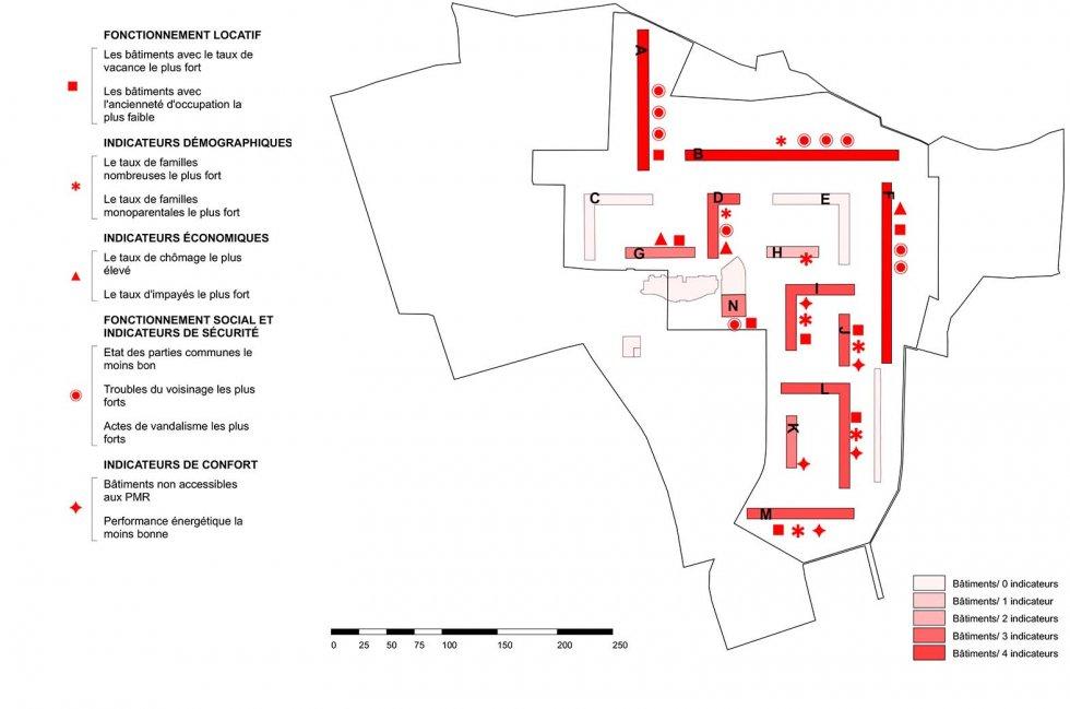 ARVAL architecture - NPNRU – Etude quartier Saint-Lucien – Beauvais - 3 1509-St Lucien-analyse urbaine-le parc immobilier