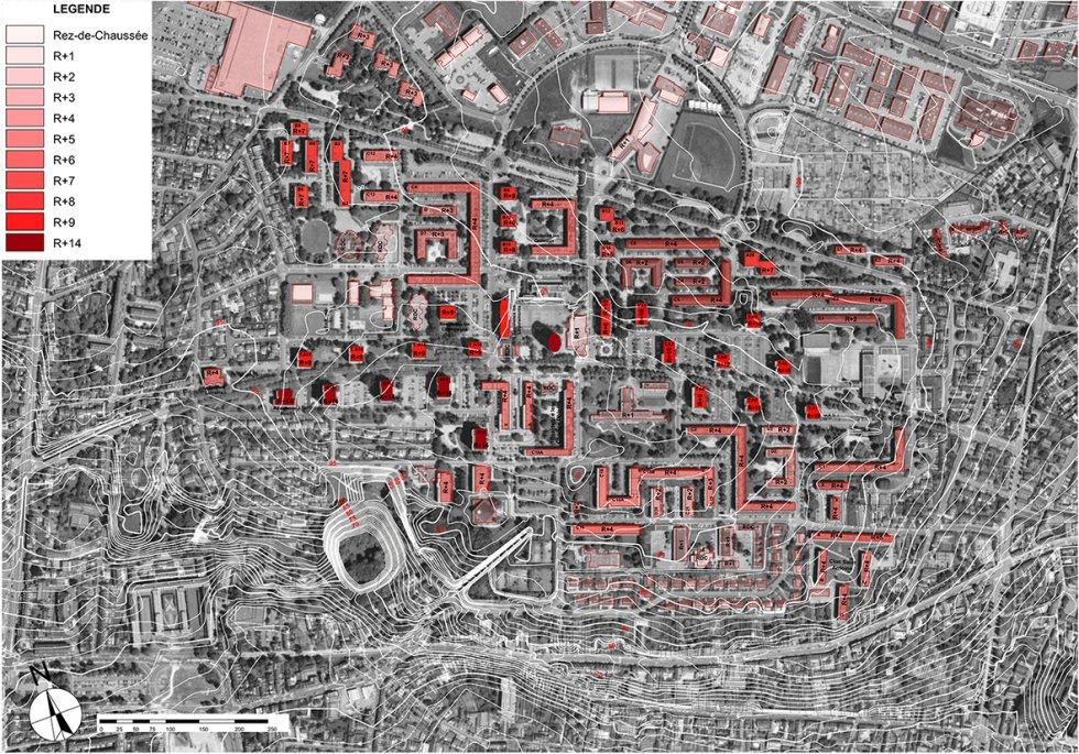 ARVAL architecture - NPNRU – étude quartier Argentine – Beauvais - 1 ARVAL NPRU Argentine-épannelage