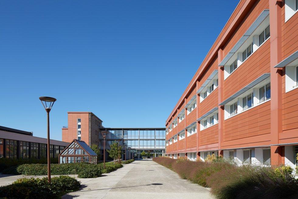 ARVAL architecture - Cité scolaire-Espaces extérieurs – Amiens - 2 arval cité scolaire amiens