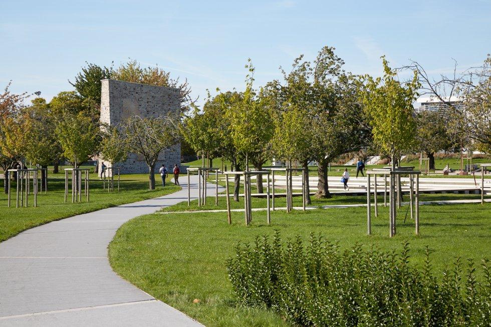 ARVAL architecture - Cité scolaire-Espaces extérieurs – Amiens - 4 arval cité scolaire amiens