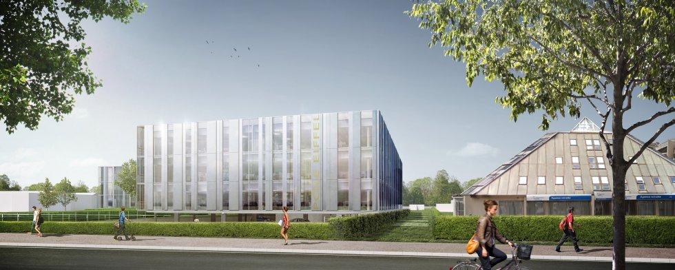 ARVAL architecture - Pôle Eiffel – Compiègne - 3 ARVAL Concours pour la construction du futur Pôle Eiffel à Compiègne pers 2
