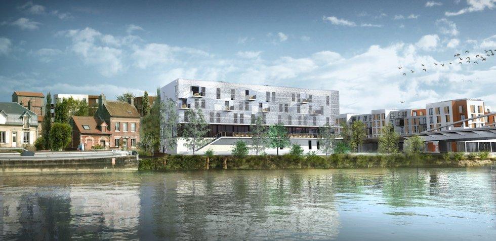 ARVAL architecture - Hôtel ZAC des deux Rives – Margny les Compiègne - 1 arval hotel margny les compiegne 1