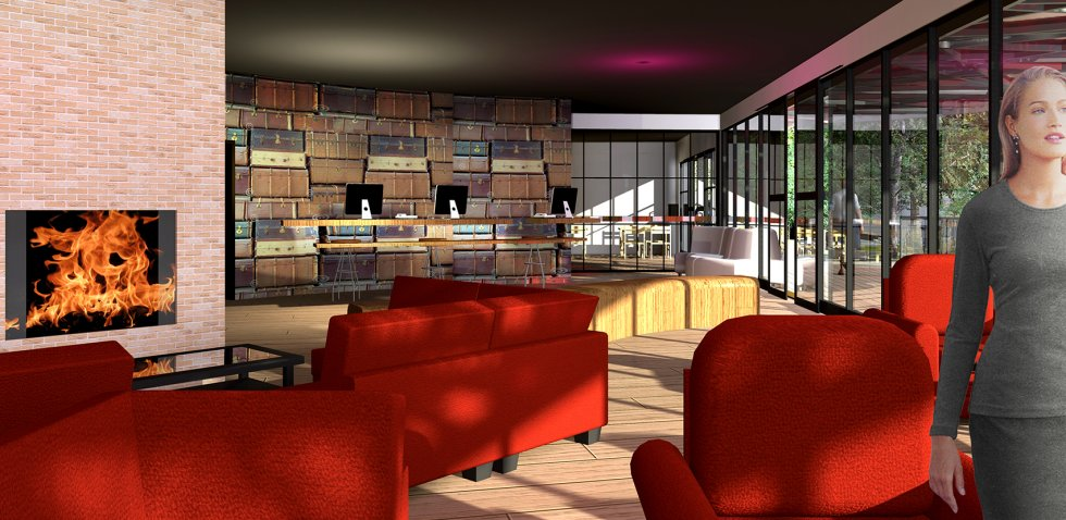 ARVAL architecture - Hôtel ZAC des deux Rives – Margny les Compiègne - 7 arval hotel margny les compiegne 2