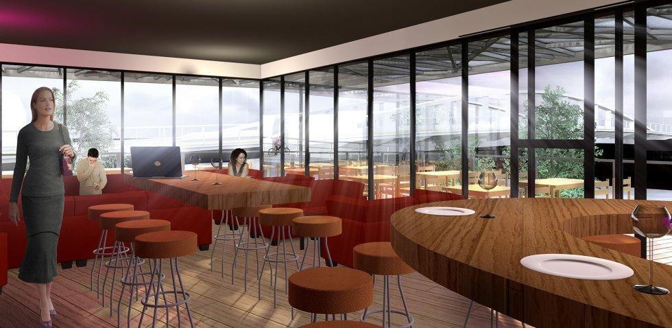 ARVAL architecture - Hôtel ZAC des deux Rives – Margny les Compiègne - 8 arval hotel margny les compiegne 2
