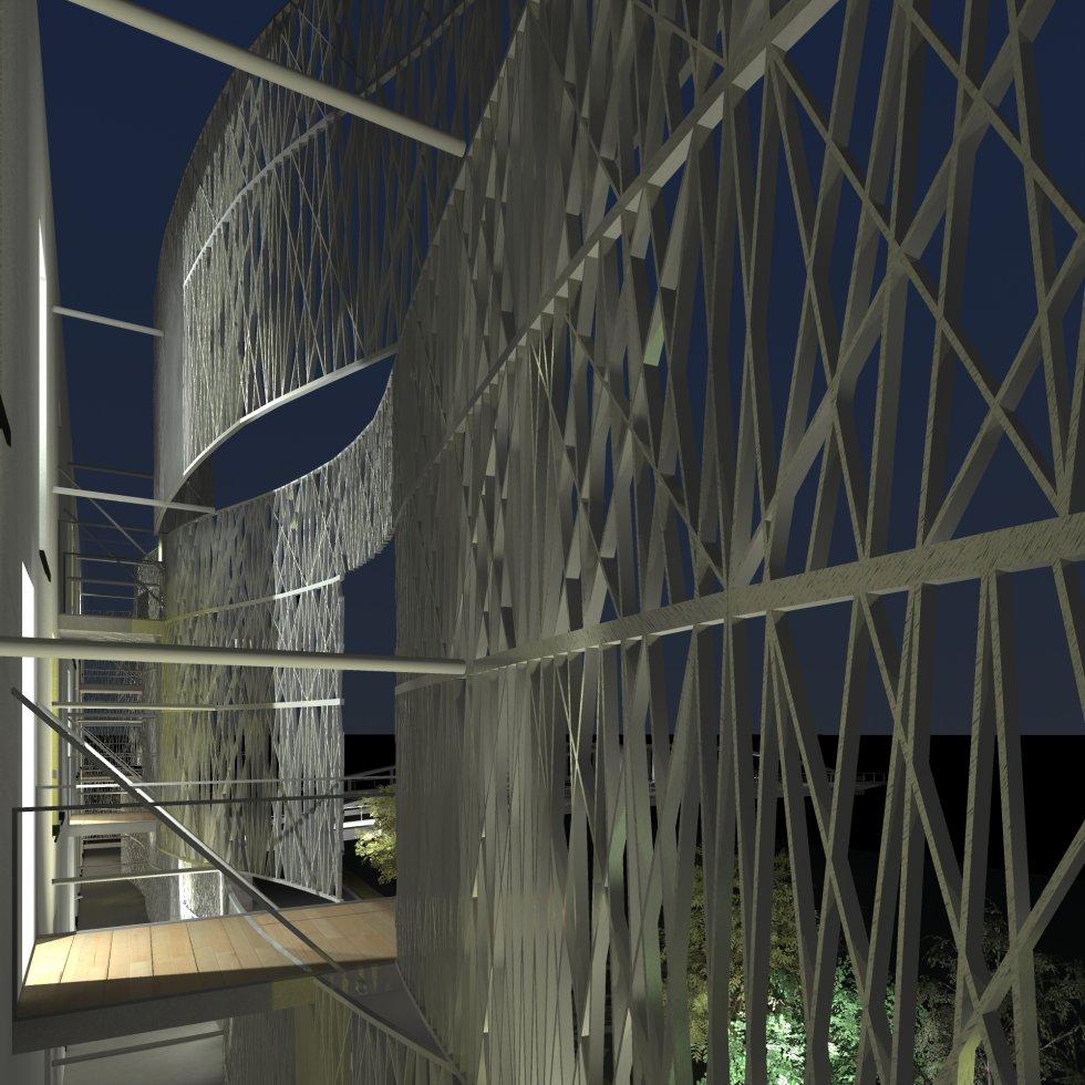 ARVAL architecture - Hôtel ZAC des deux Rives – Margny les Compiègne - 9 arval hotel margny les compiegne 2