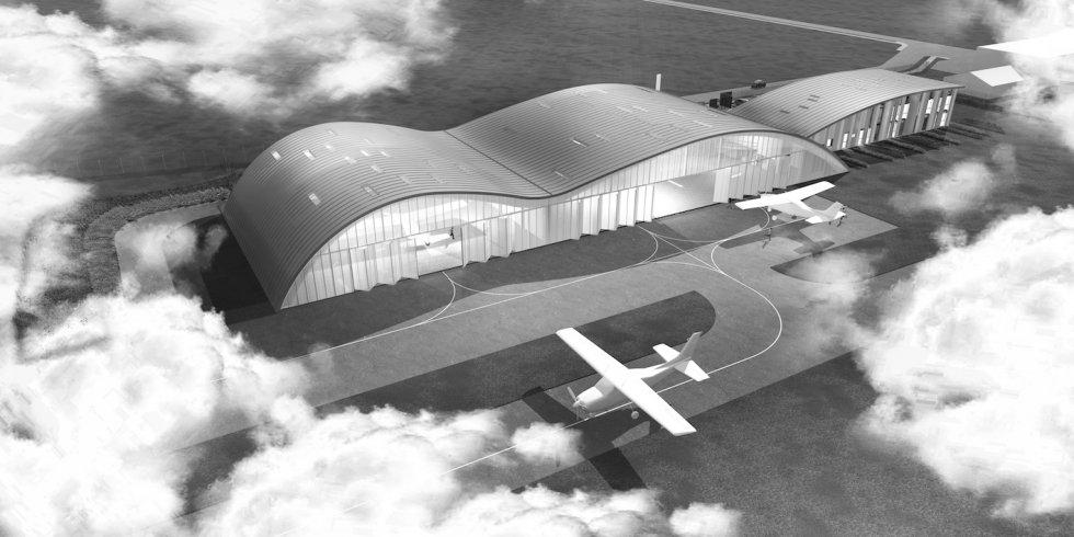 ARVAL architecture - L'IGN sur le site de l'aéroport Beauvais-Tillé - 1 ARVAL - IGN à Beauvais-Tillé
