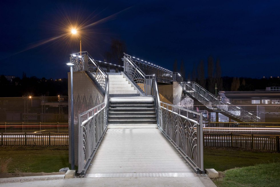 ARVAL architecture - Requalification RD 1029 – Saint Quentin - 2 arval RD 1029  passerelle Saint-Quentin