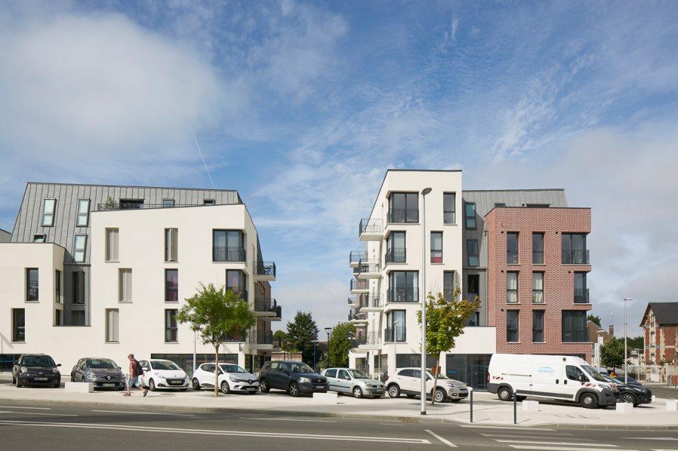 ARVAL architecture - ZAC des 2 Rives-Ilôt C – Compiègne - 2 ZAC des 2 Rives - Ilot C