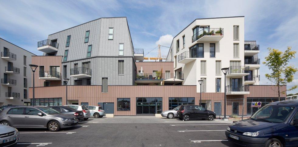 ARVAL architecture - ZAC des 2 Rives-Ilôt C – Compiègne - 8 ZAC des 2 Rives - Ilot C