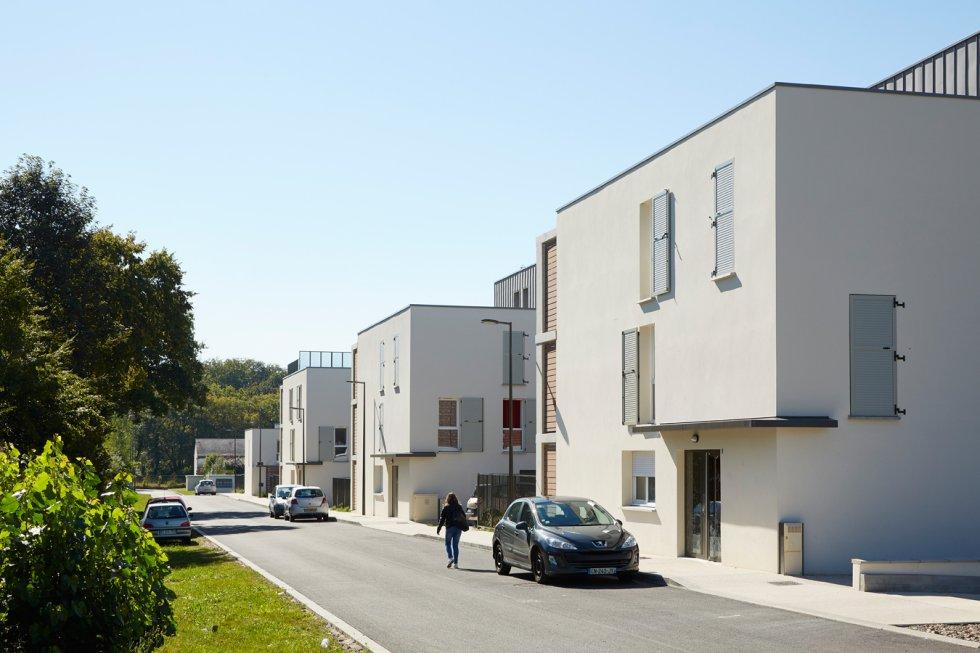 ARVAL architecture - 63 logements «25 RGA» – Compiègne - 6 arval 63 logements 25 RGA 2