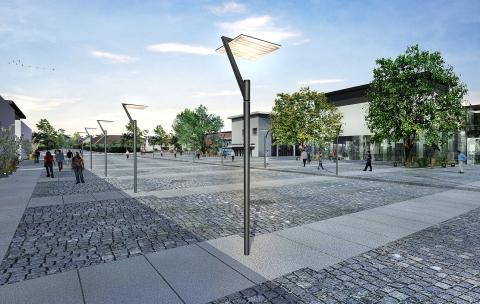 Restructuration du centre-ville – Lamorlaye