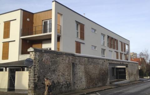 Bâtiment collectif site Fernand Christ – Laon