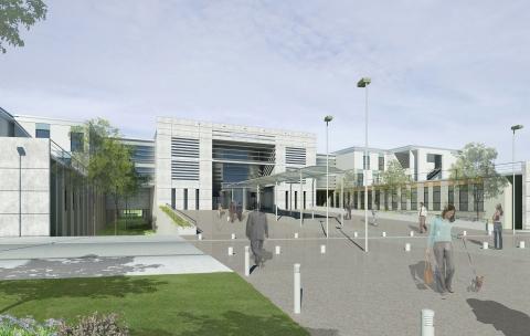 Construction du nouvel hôpital – Péronne