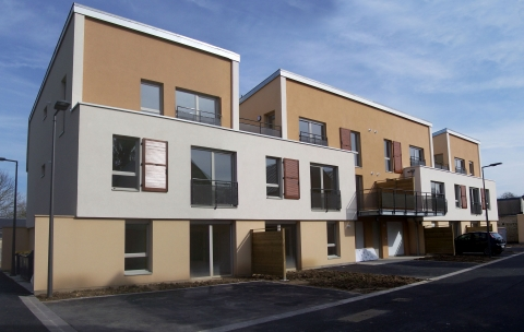 30 logements collectifs – Soissons