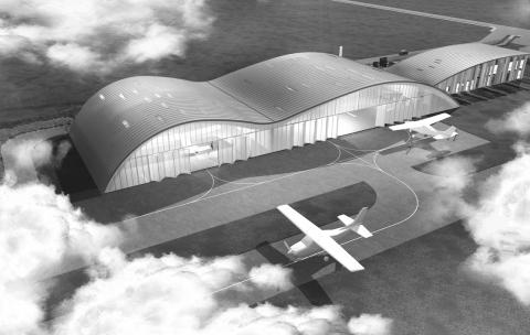 L'IGN sur le site de l'aéroport Beauvais-Tillé