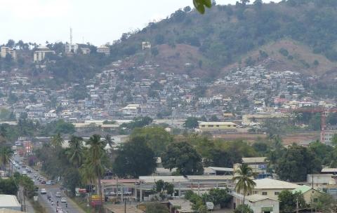 Plan d'aménagement de la zone Kaweni – Mamoudzou