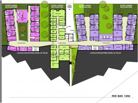 ARVAL architecture - FAM – Bailleul sur Therain - 14 arval fam bailleuil sur therain