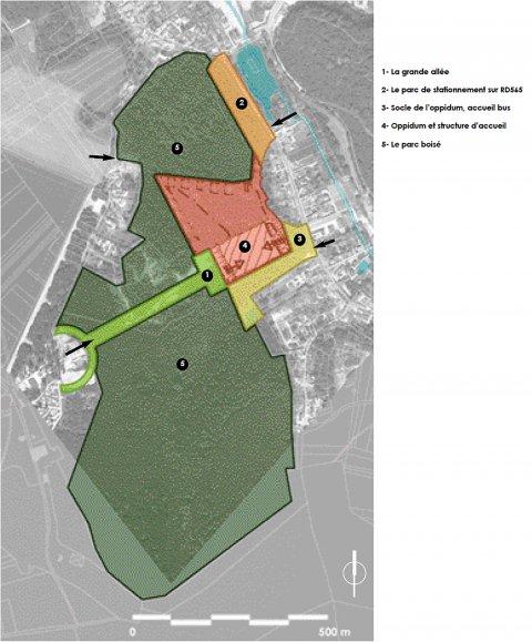 ARVAL architecture - Aménagement du bois communal – Verneuil - 2 arval bois de Verneuil