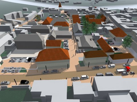 ARVAL architecture - Requalification du Centre Bourg – Choisy-au-bac - 4 Arval centre bourg Choisy au bac