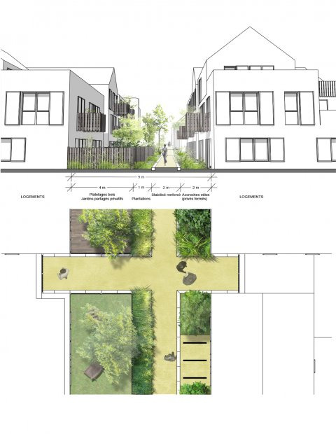 ARVAL architecture - ECOQUARTIER – SENLIS - 6 Arval ecoquartier Senlis